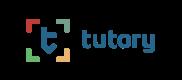logo tutory blue